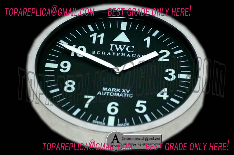 iwc Horloge murale Mark XV IW325301 luminor chiffres arabes